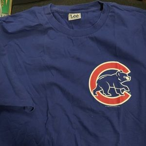 Chicago Cubs logo t shirt